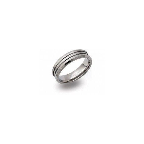 Unique titán gyűrű TR-100 unisex ékszer