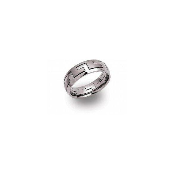 Unique titán gyűrű TR-19 unisex ékszer