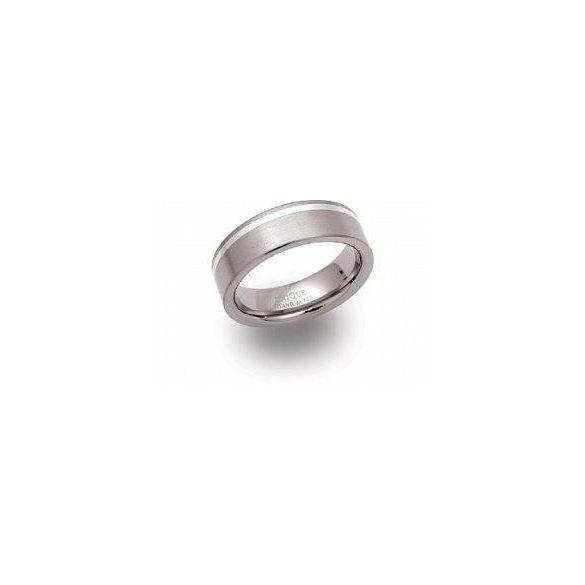 Unique titán gyűrű TR-23 unisex ékszer