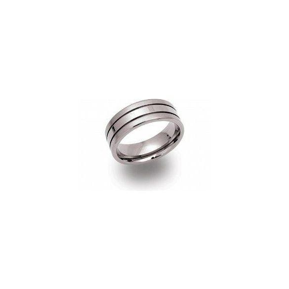 Unique titán gyűrű TR-31 unisex ékszer
