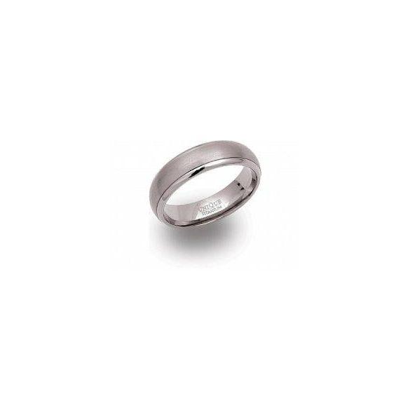 Unique titán gyűrű TR-4 unisex ékszer
